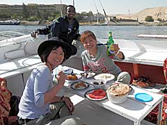 Lunch on the Nile