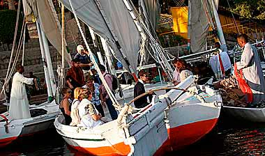 sail with private felucca in Aswan